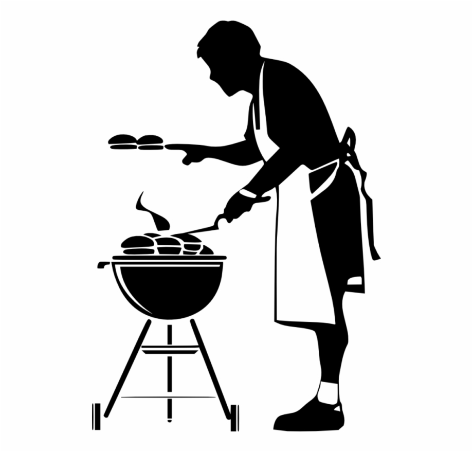 Barbecue Clipart Black And White Free PNG Images & Clipart Download.