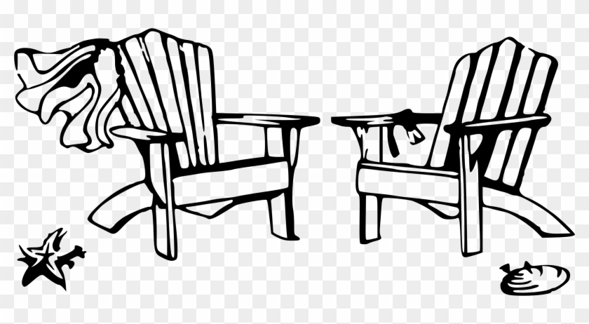 Adirondack Beach Chair Clipart 3 By Jamie.
