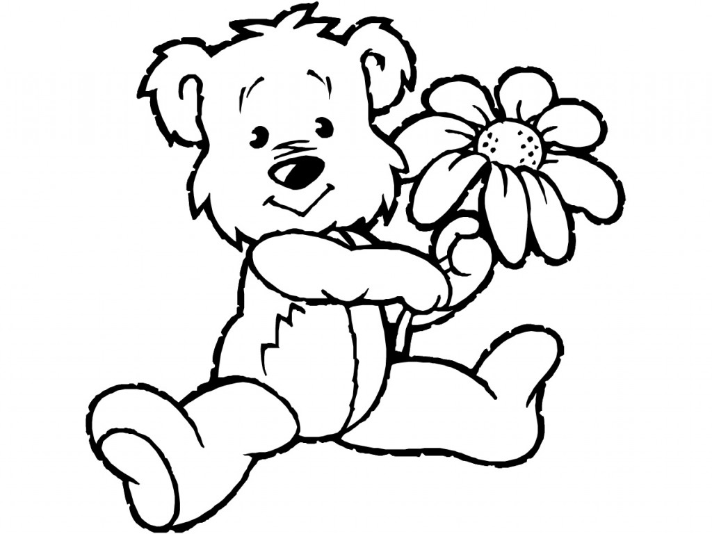 Teddy bear black and white free teddy bear clipart black and.