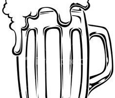 Black and white beer clipart 2 » Clipart Portal.