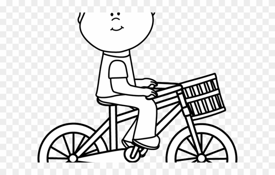 Cycling Clipart Childrens Bike.