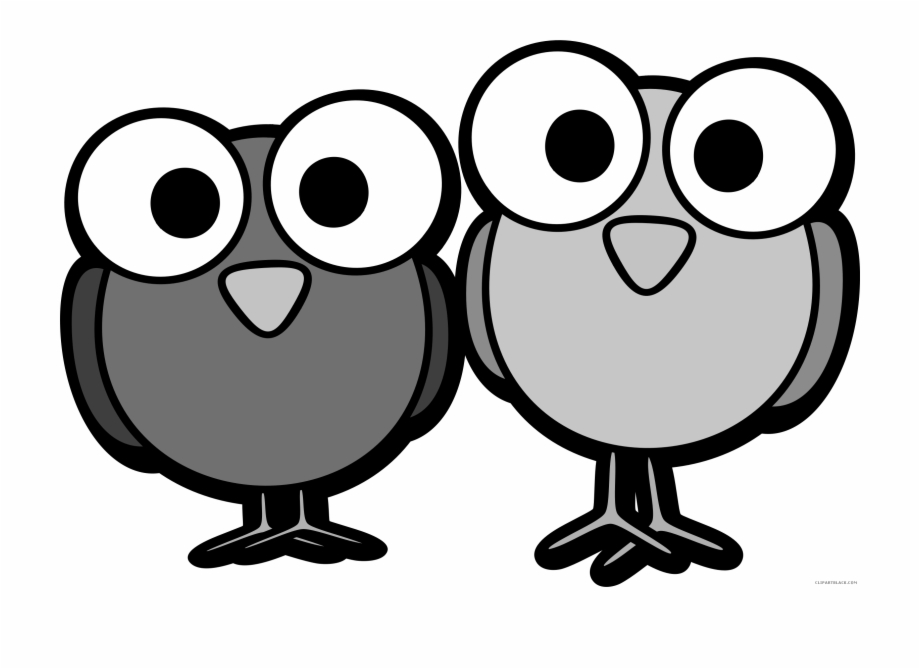 Huge Bird Animal Free Black White Clipart Images Clipartblack.