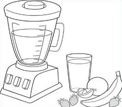 Free Blender Clipart Black And White, Download Free Clip Art.