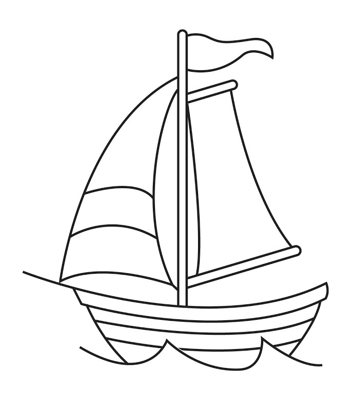 Sailboat Clipart Black And White Boat Black And White Sail.
