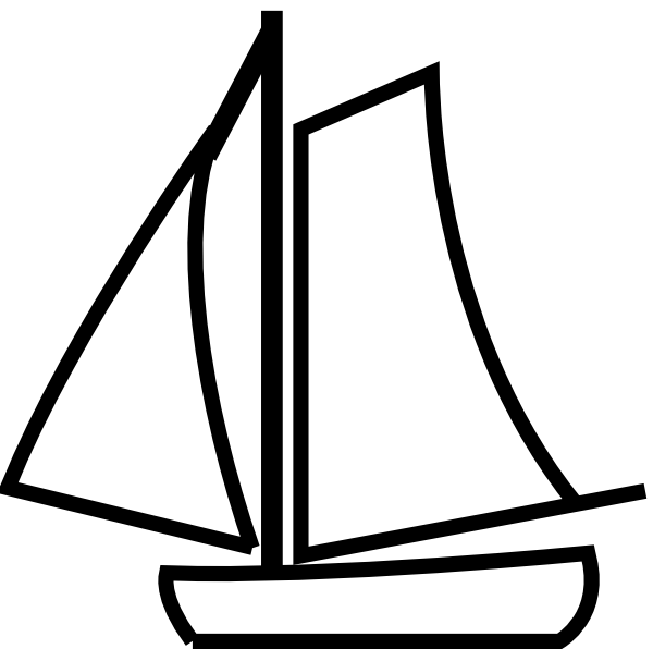 Free Black And White Boat Pictures, Download Free Clip Art.