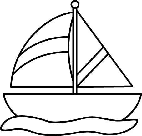 Free Boat Clipart Black And White, Download Free Clip Art.