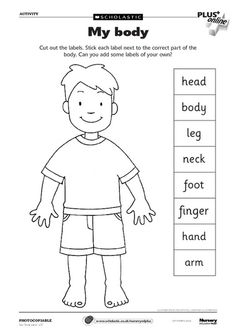 Body Part Clipart Black And White.