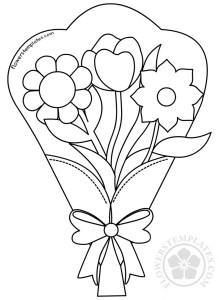 Bouquet clipart black and white, Picture #117847 bouquet.