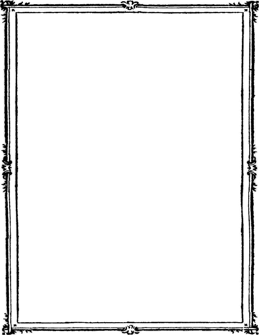 Black Frame PNG Images Transparent Free Download.