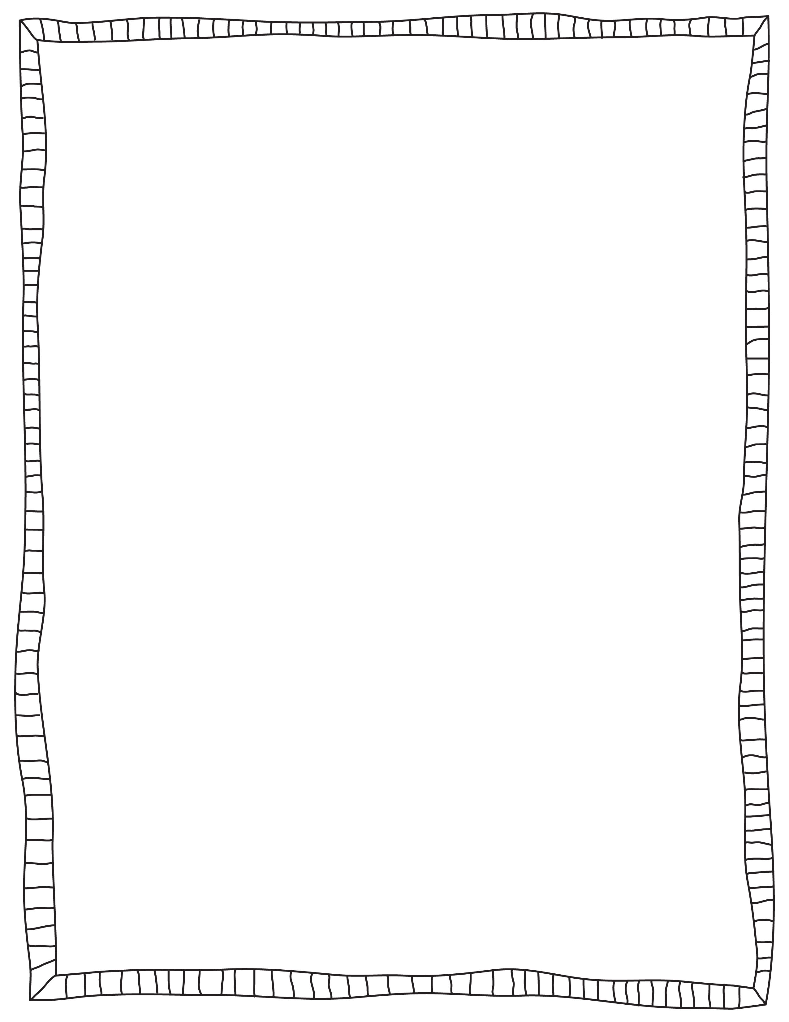 Free Border Clipart Black And White.