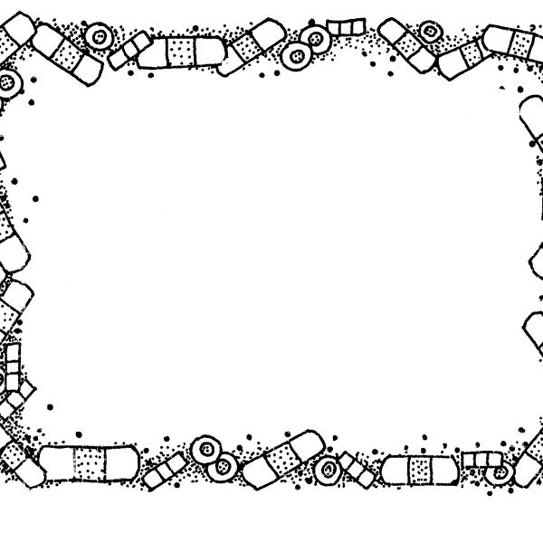 Black And White Border Clipart in School Clipart Borders Black And.