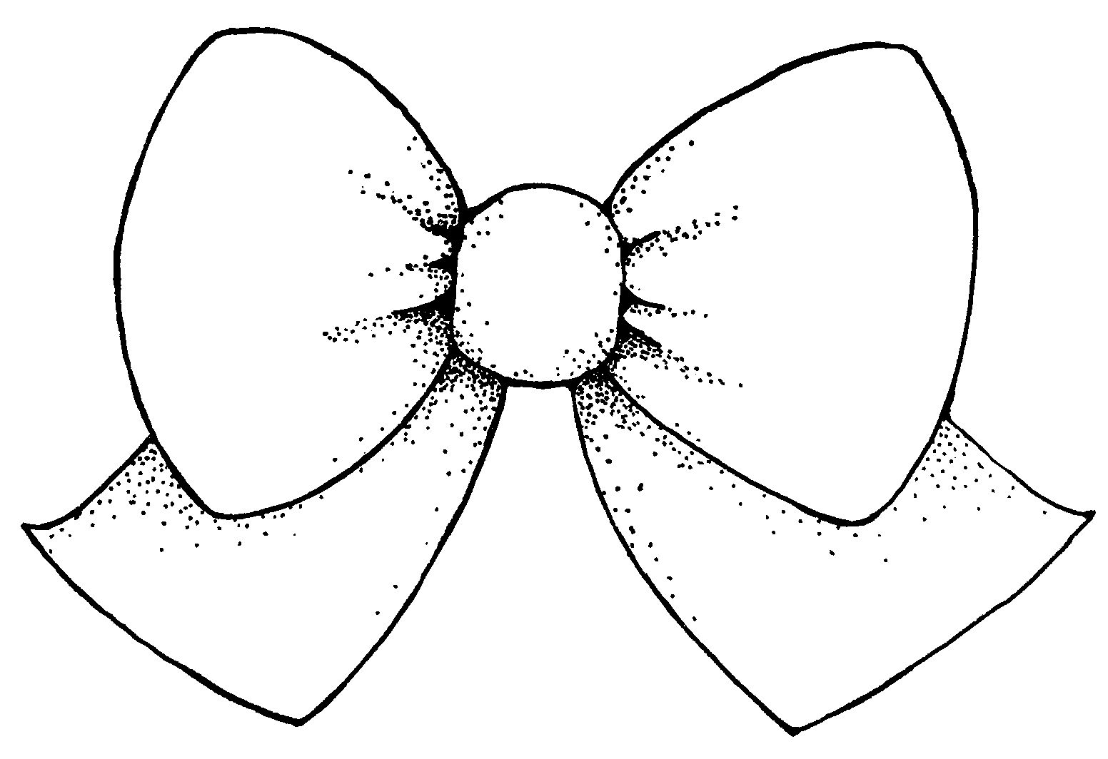Bow clipart black and white free clipart images 5.