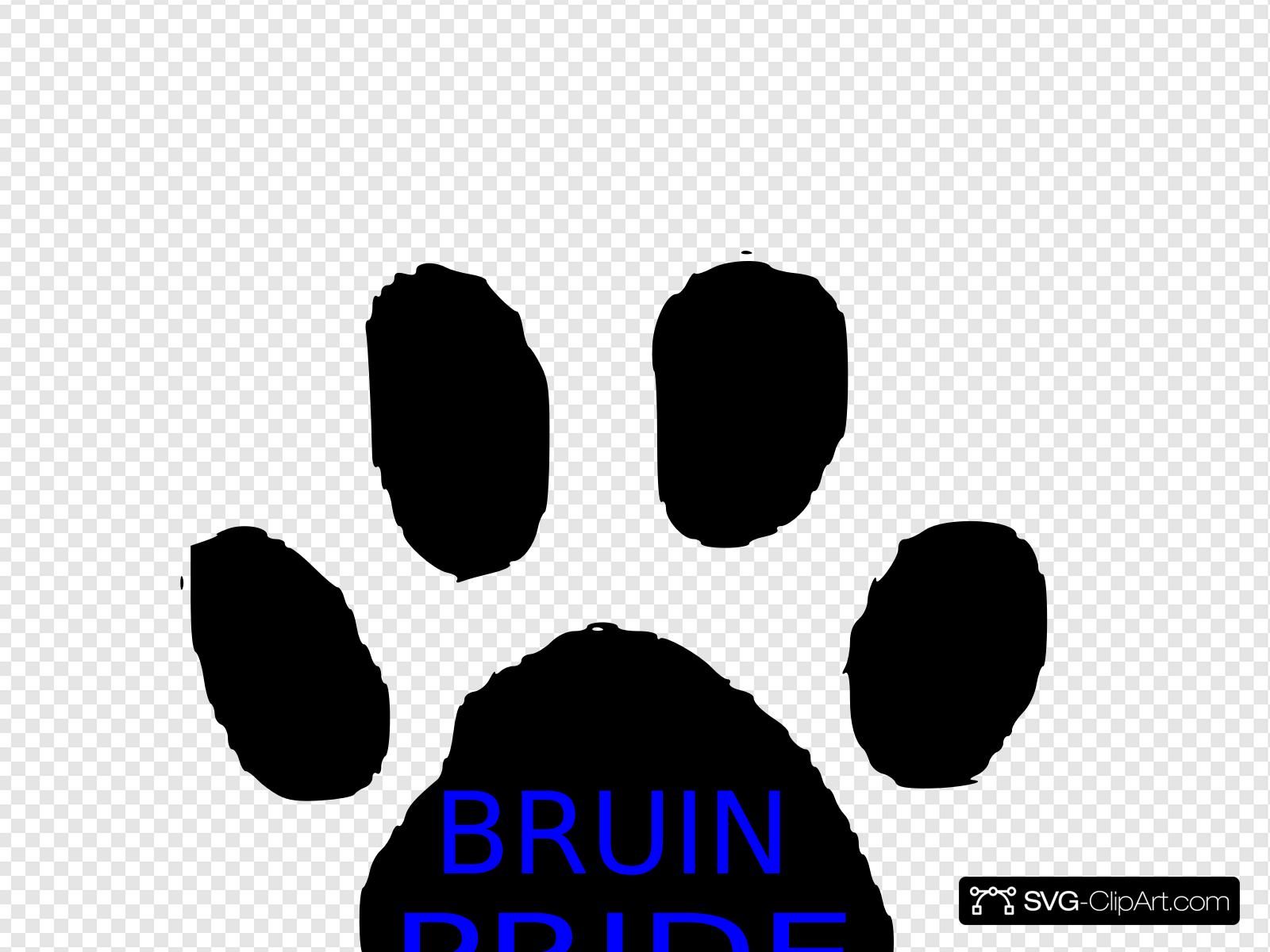 Bruin Pride Clip art, Icon and SVG.