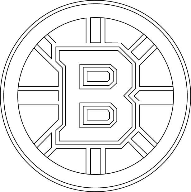 Clipart library: More Like Boston Bruins Logo Outline Vector.