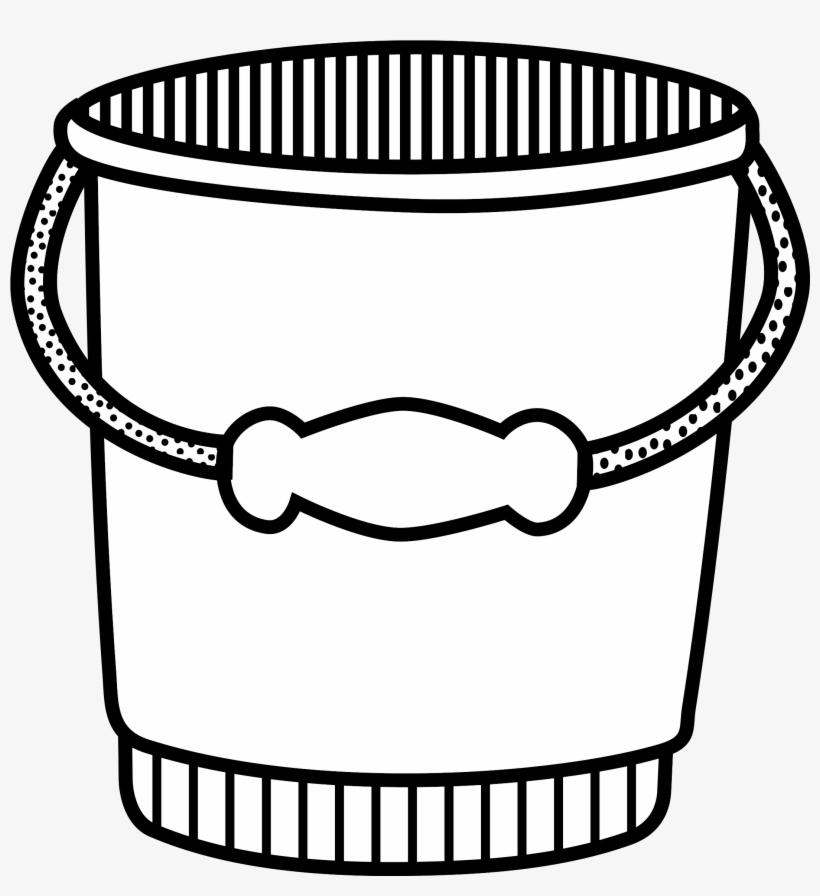 Bucket And Spade Line Art Computer Icons.
