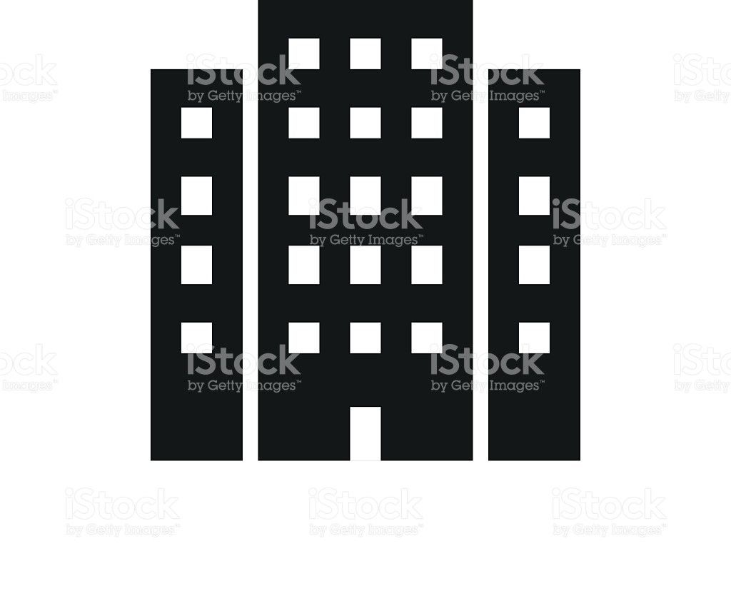 Office Building Clipart Black And White 5.
