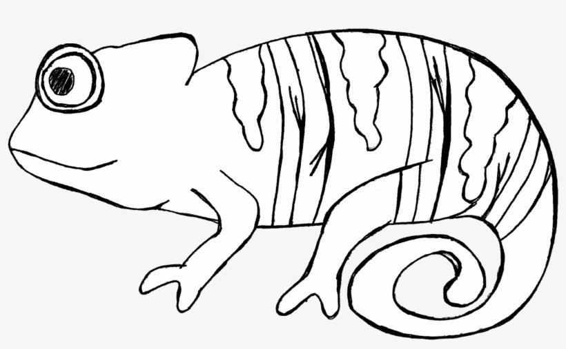 Cameleon Clipart Desert Animal.