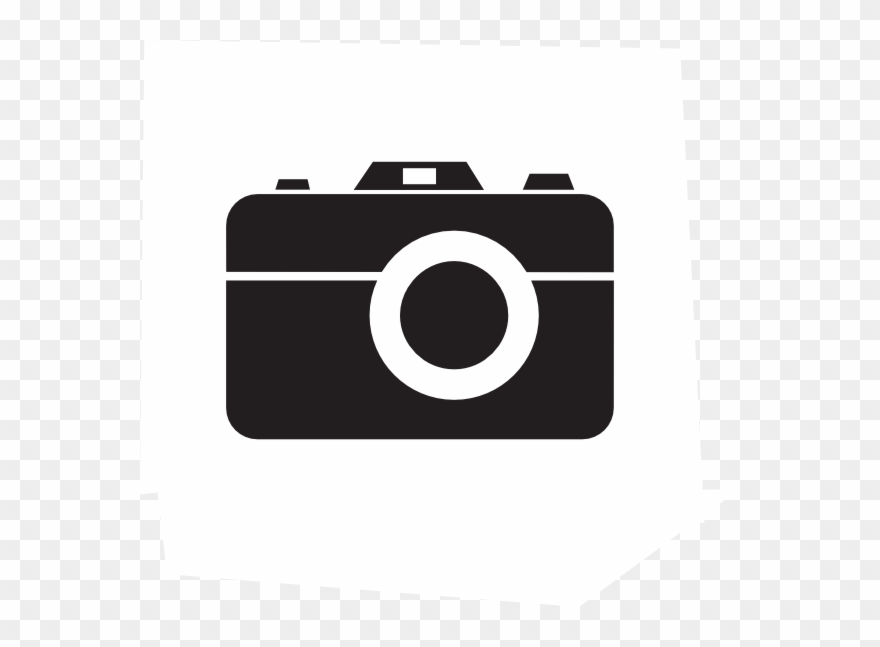 Camera Clipart Black And White Png Transparent Png (#442525.