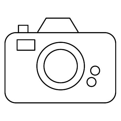 Black And White Clipart Camera.