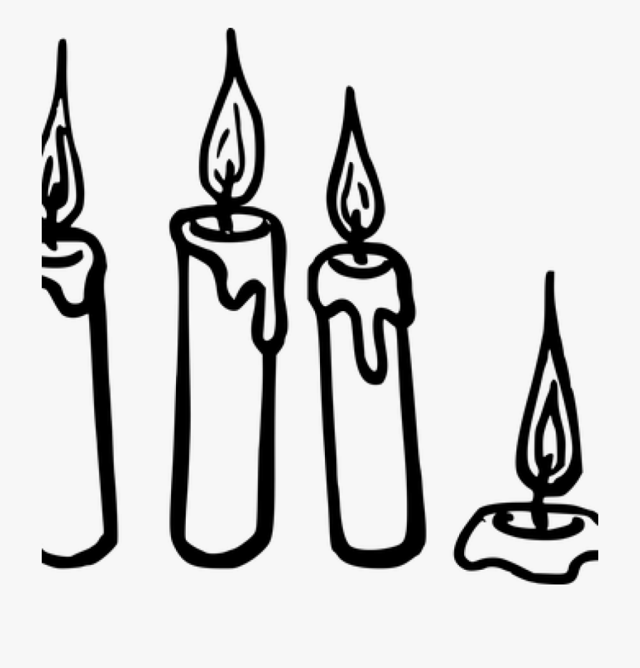 Candle Clipart Outline.