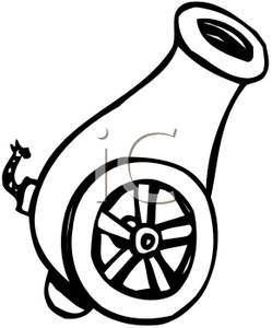 669 Cannon free clipart.