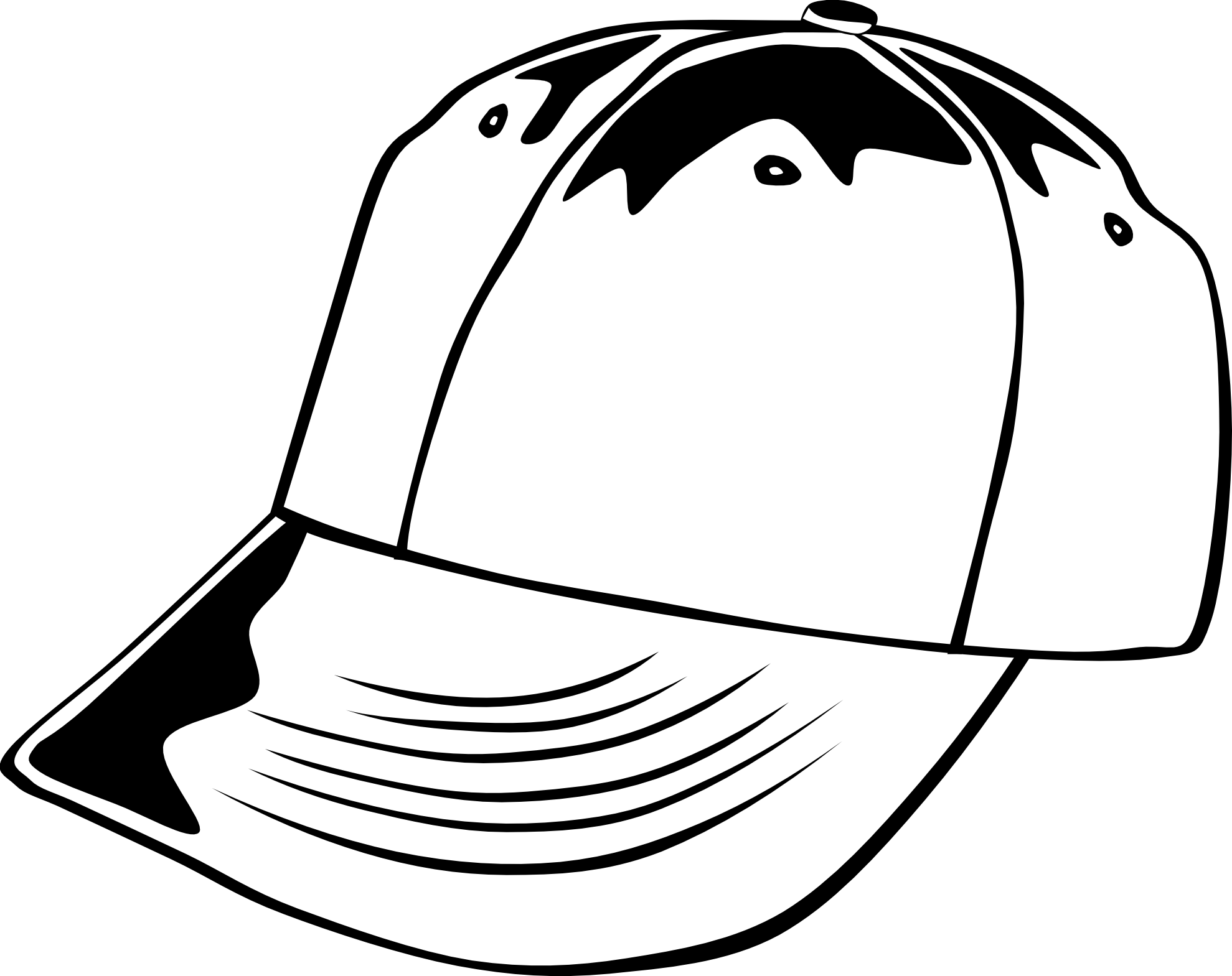 Cap PNG Black And White Transparent Cap Black And White.PNG.