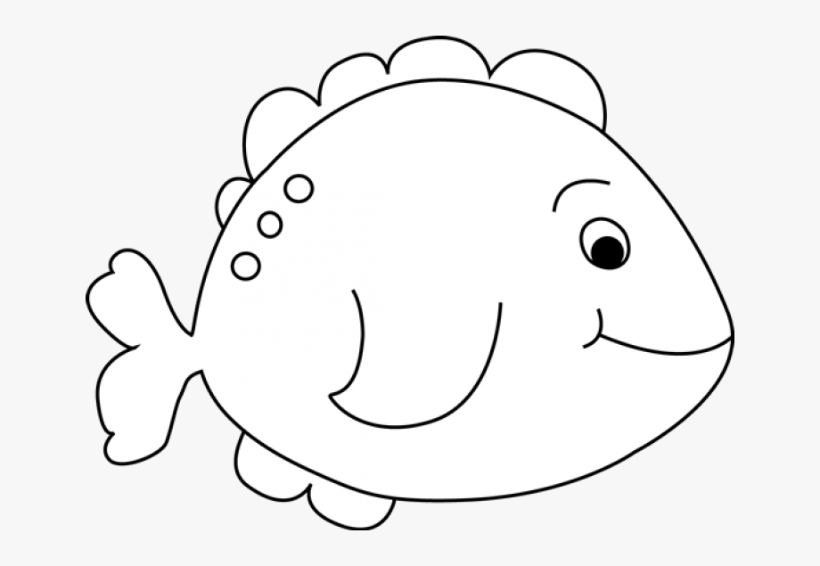 Fish Clipart Black And White Camping Clipart.