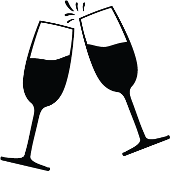 Graphic Free Stock Clipart Champagne Glass Champagne Icon.