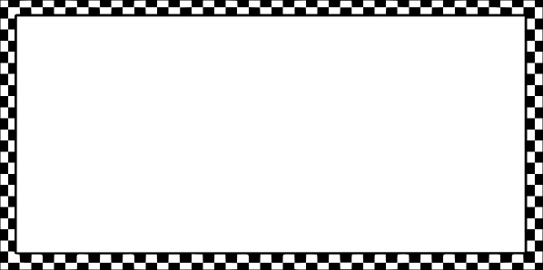 Worldlabel Border Bw Checkered X clip art Free vector in.