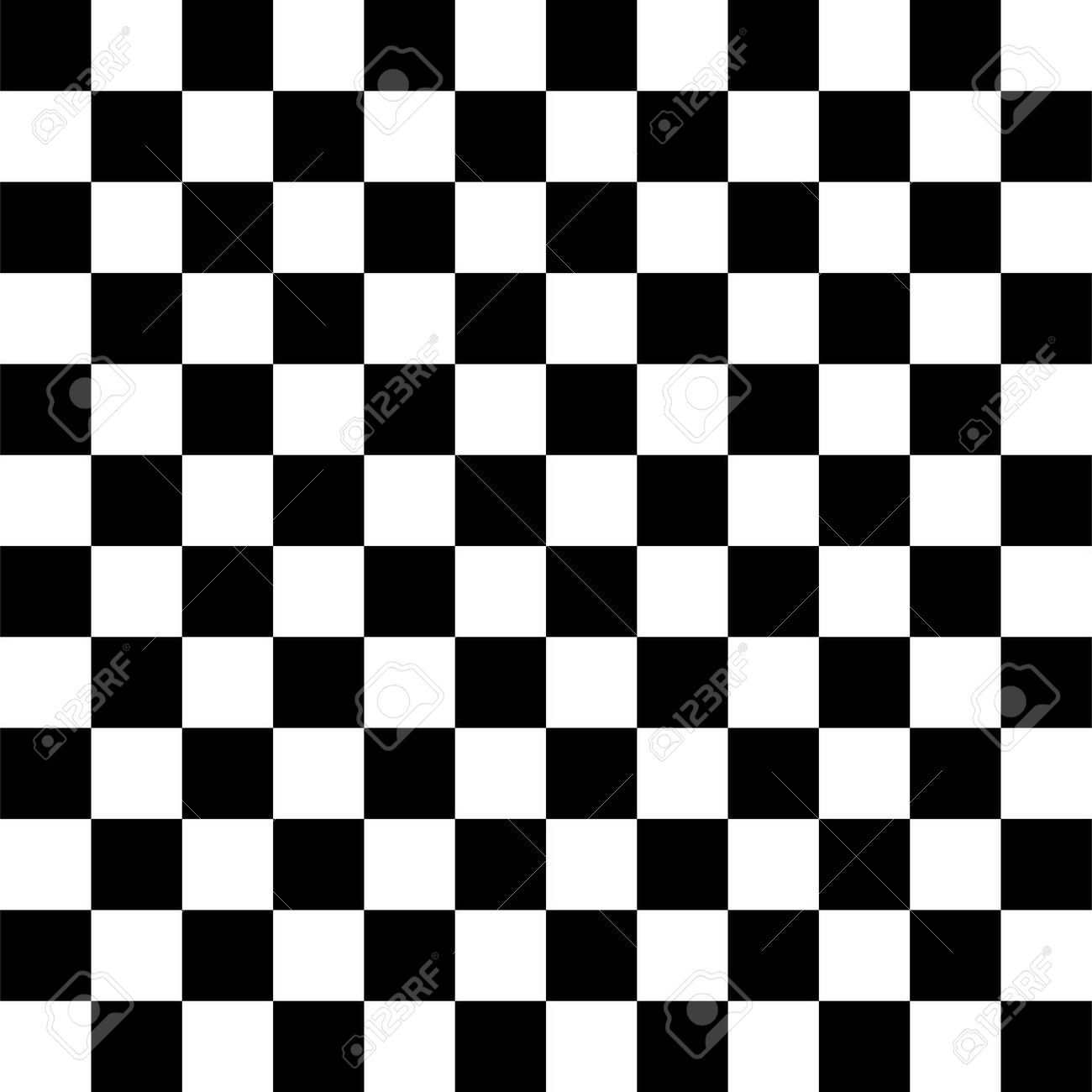 Simple black and white checkered abtract background.