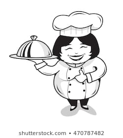 Chef Clipart Black And White (99+ images in Collection) Page 1.
