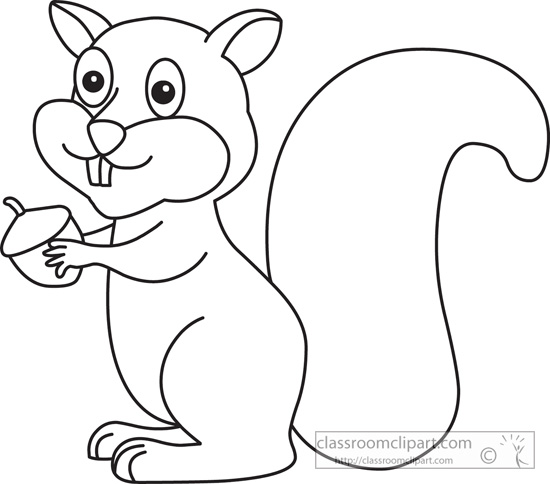 Free Chipmunk Clipart Black And White, Download Free Clip.