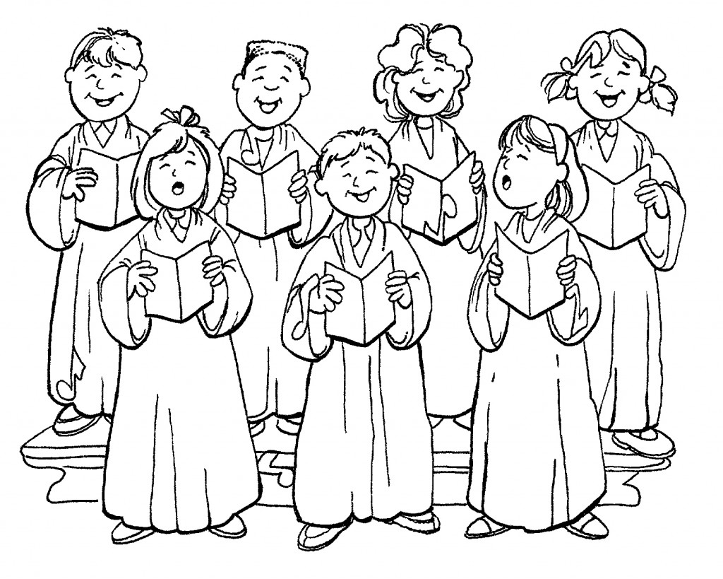 Free Choir Clip Art Black And White, Download Free Clip Art.