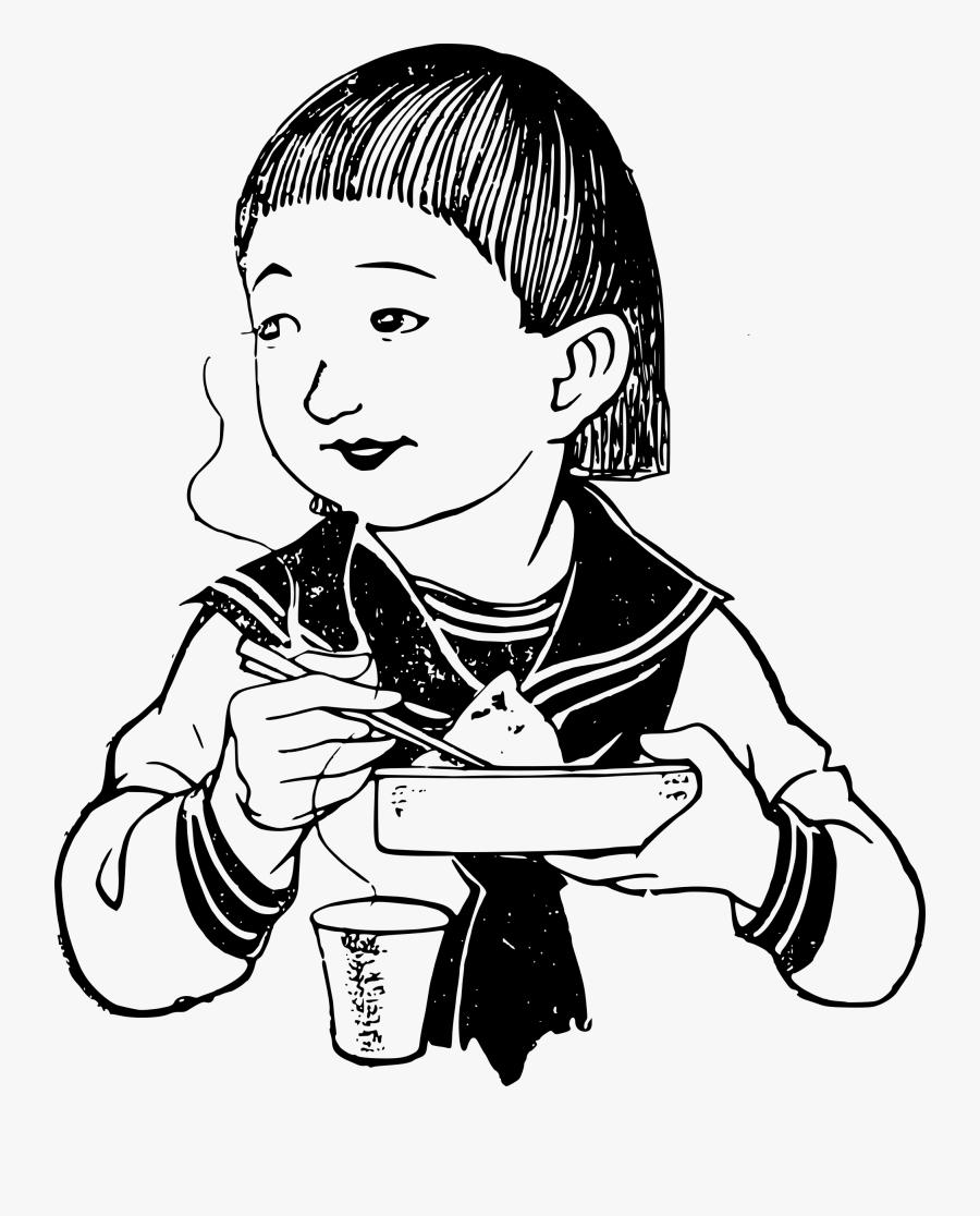 Use Chopsticks Clipart Black And White , Free Transparent.