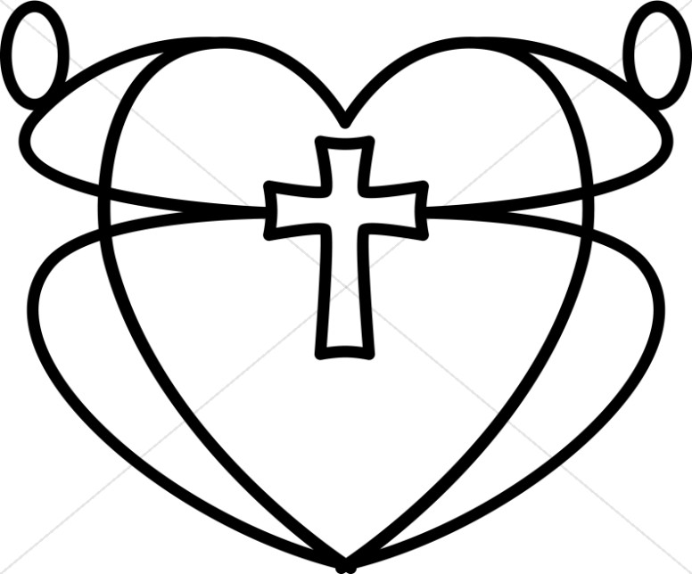 Christian Heart Clipart, Christian Heart Images.