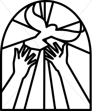 Free Black And White Christian Clipart.