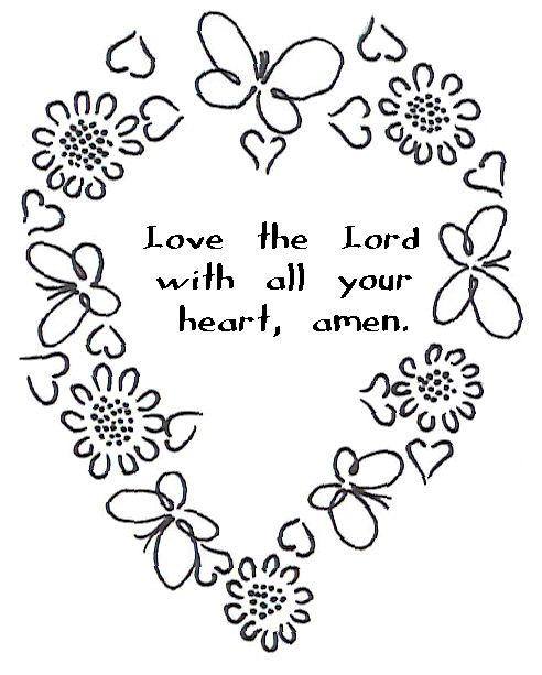 Printable Religious Clip Art.