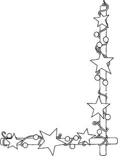 Christmas Border Clipart Black And White (88+ images in Collection.