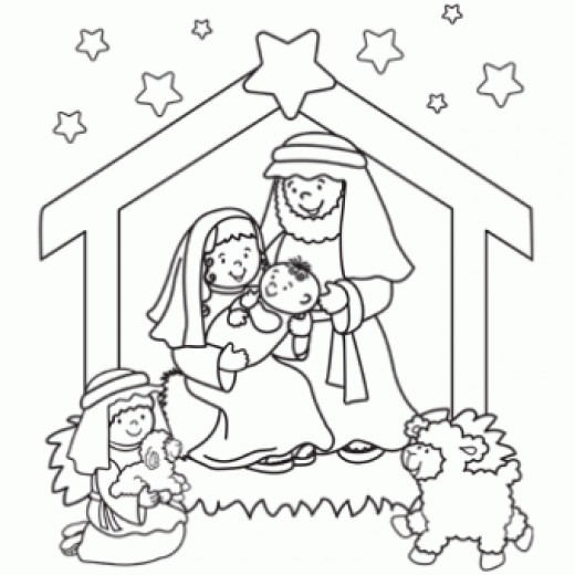 Nativity black and white nativity clip art black and white.