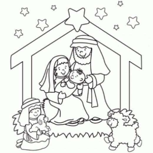 Nativity black and white nativity clip art black and white.