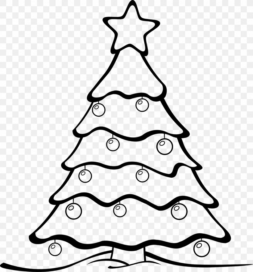 Christmas Tree White Clip Art, PNG, 1491x1600px, Christmas.