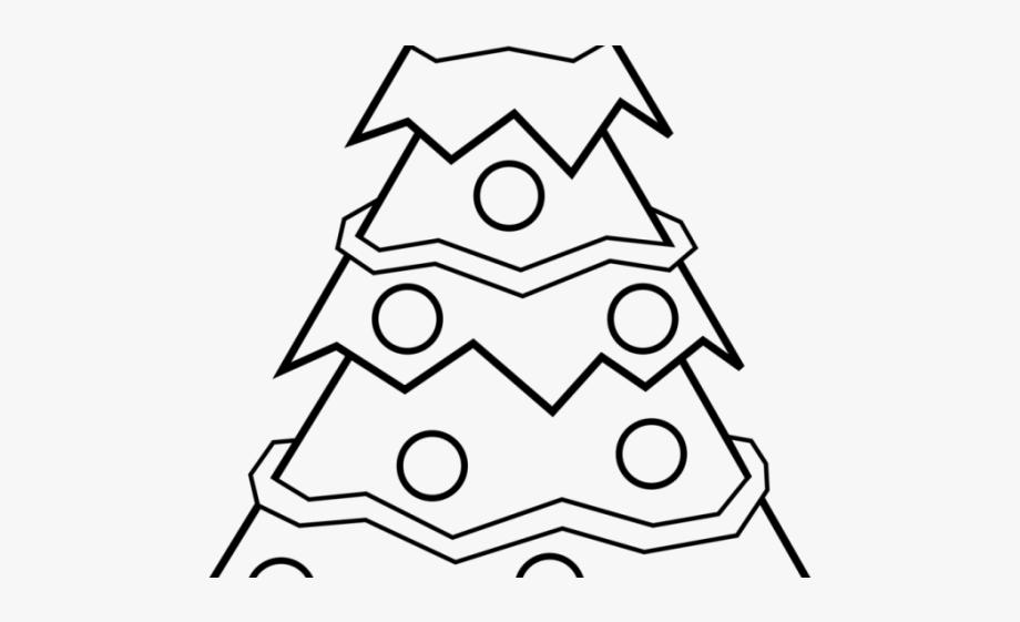 Drawn Christmas Ornaments Black And White.