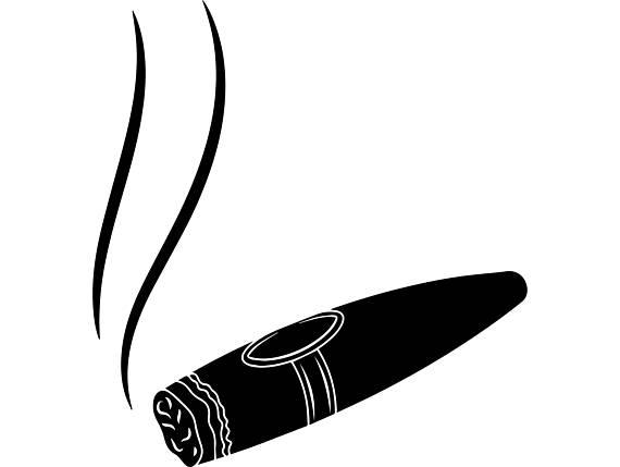 362 Cigar free clipart.