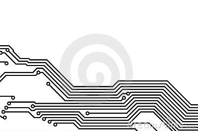 PCB (printed Circuit Board) 8 Royalty Free Stock Images.