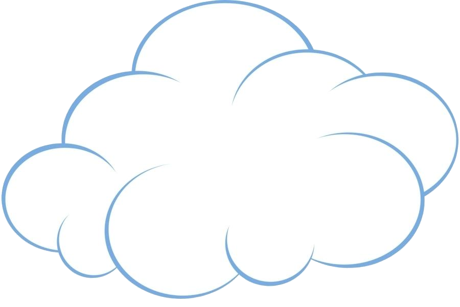 Cloud Clipart Black And White Art Clip Cartoon Animation Clouds Sun.