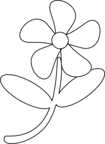 23+ Flower Clipart Black And White Free.