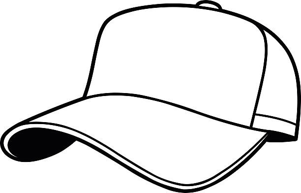 Hat clipart black and white free download png.