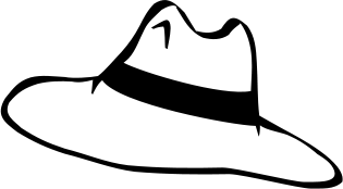 Hat black and white hat clipart black and white clipartfest 2.
