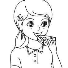 Eating Clipart Black And White.
