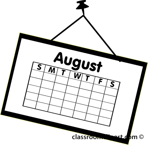 Free August Clipart Black And White, Download Free Clip Art.